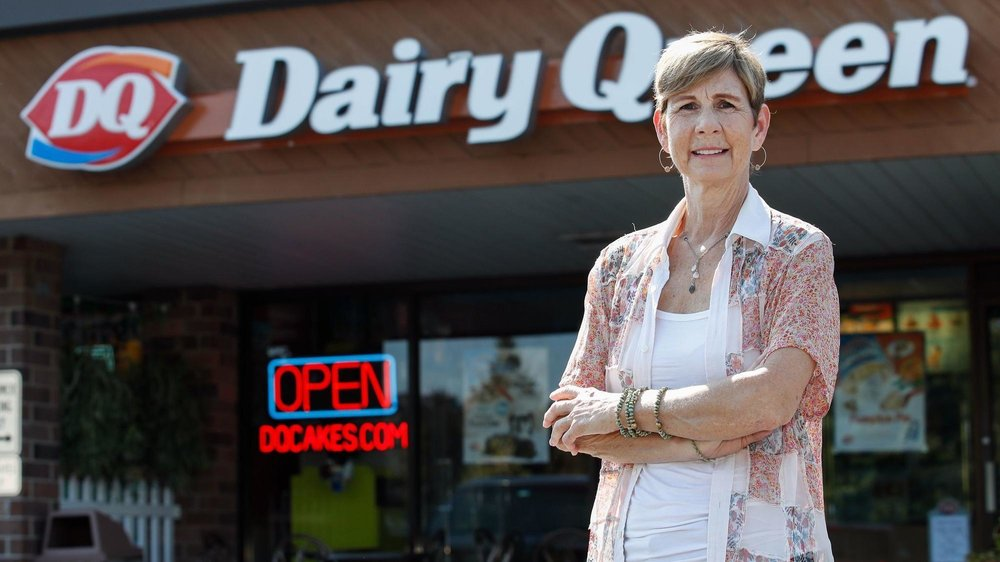 Naperville Dairy Queen store owner Karen Moloney wants the issue of teen suicide to stay front and center, despite her cancer inhibiting her ability to do as much as she had in past years. (Kamil Krzaczynski / Chicago Tribune)