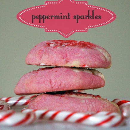 Peppermint Sparkles Cookies