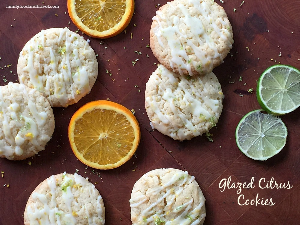 Glazed Citrus Cookies