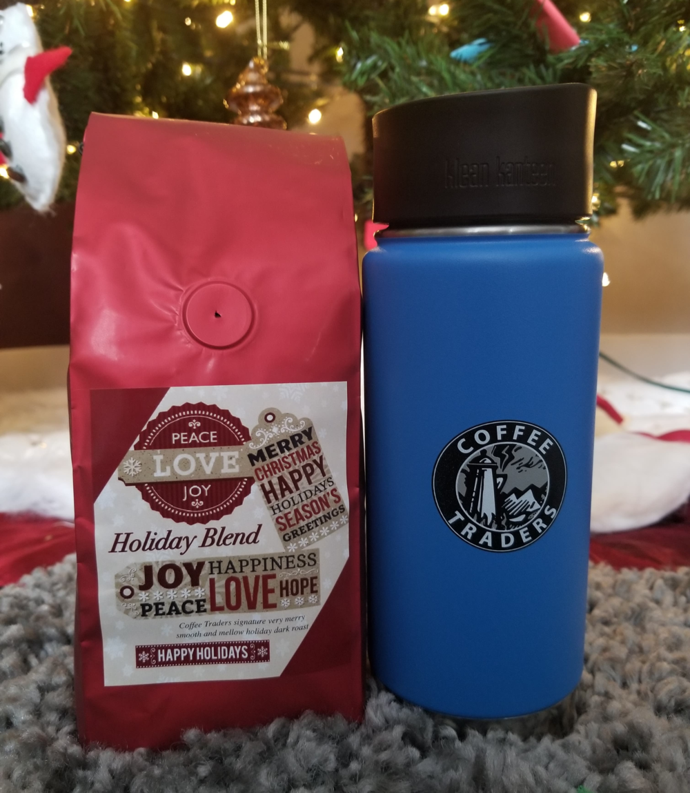 Cochrane Coffee Traders Holiday Coffee + Kleen Kanteen Mug