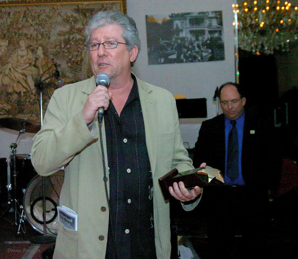 Peter Riegert w award in hand 3.jpg
