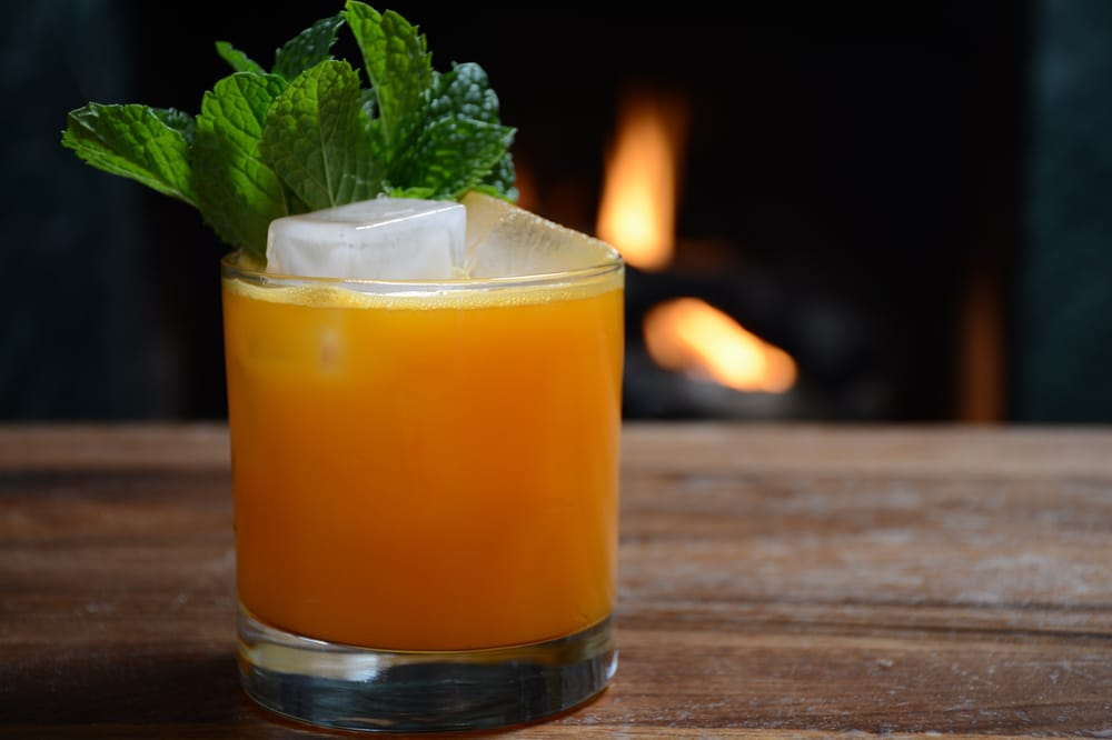 the Velveteen Rabbit - Ever wonder what Bugs Bunny drinks...wonder no more. Vodka, ginger beer, and carrot juice will keep you going, and going, and going.