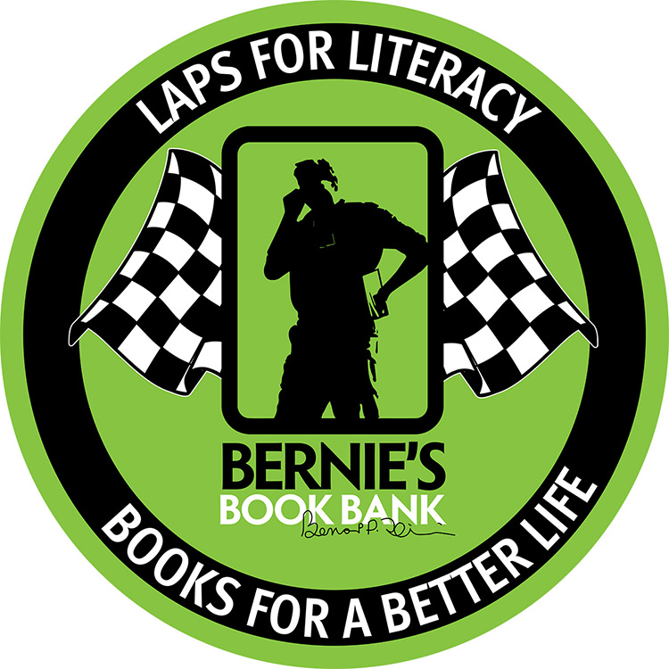 Laps for Literacy - Books for a Better Life - Supporting Bernie's Book Bank