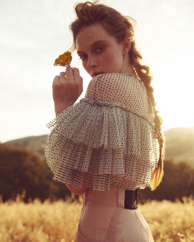 Fields Of Gold for @schonmagazine | @larsenthompson | @styledbyfranzy | @danadelaney | @mattshair | #schonmagazine