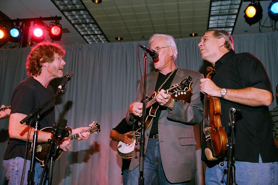 Sam Bush, Danny Jones, Chuck
