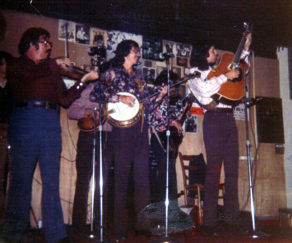 Bluegrass Alliance, Nashville  Lonnie Peerce, Garland Shuping, Chuck