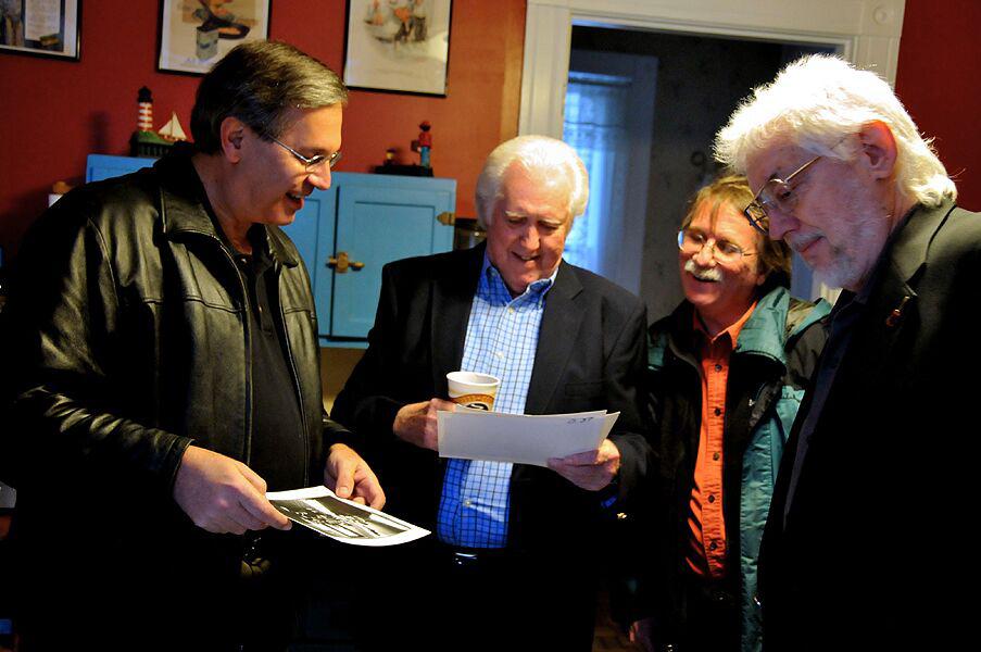 Chuck, JD Crowe, Al White, Curtis Burch