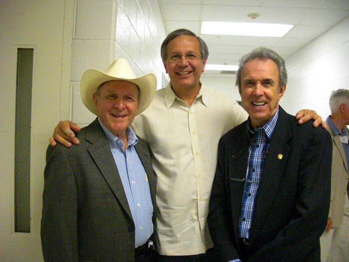 Jim Smoak, Chuck, and Buck White