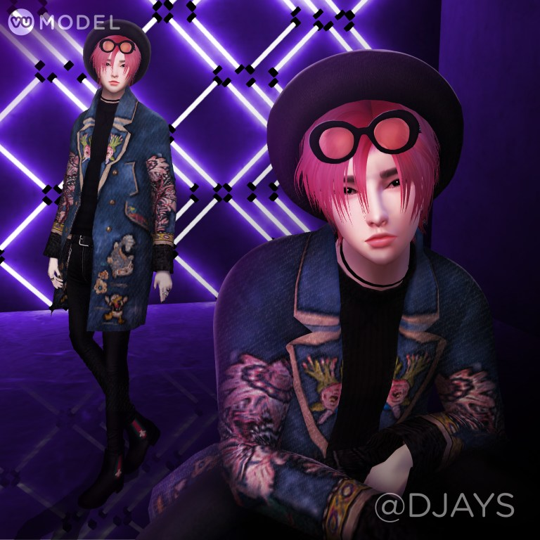 @DJAYS - November 2018 (KPOP!) – Djays is a digital and traditional artist who's been on IMVU for over 2 years. He loves making outfits and expressing himself this way on IMVU.See Profile →