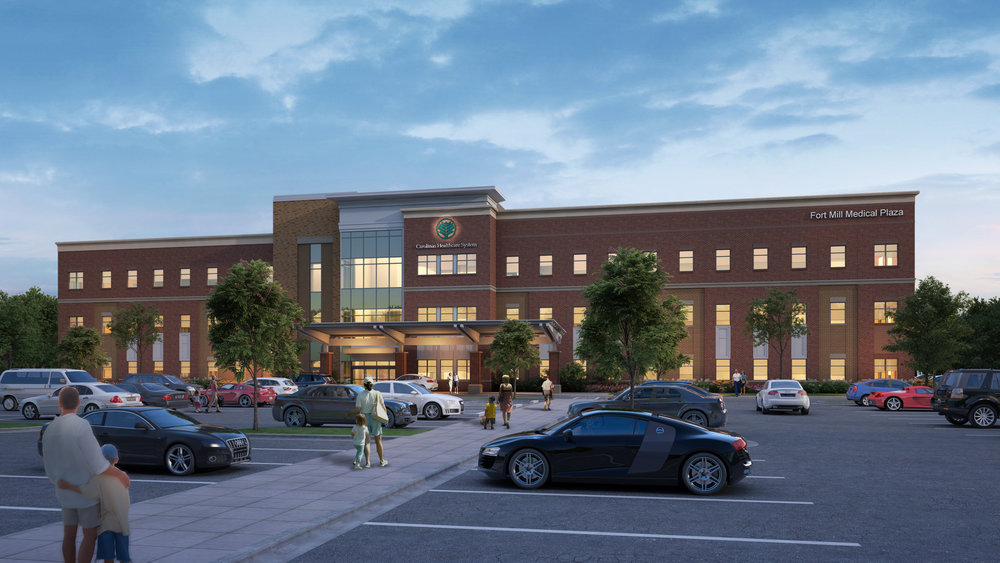 Fort Mill Medical Plaza - view from towards main entrance.jpg