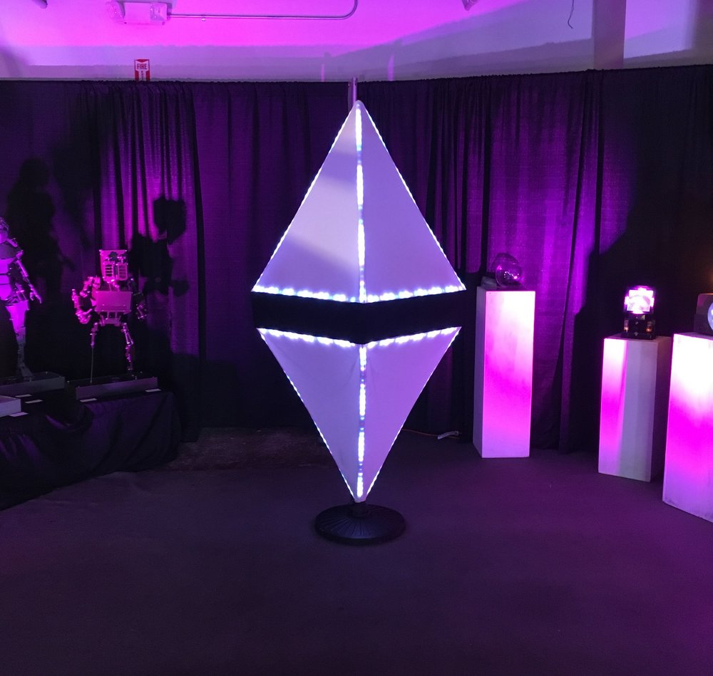 Figure 2. Ethereum Artwork.