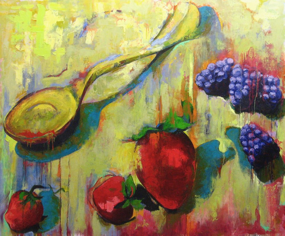 Spooning Berries