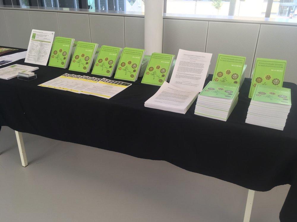 3 ESIC book display at HBES.JPG