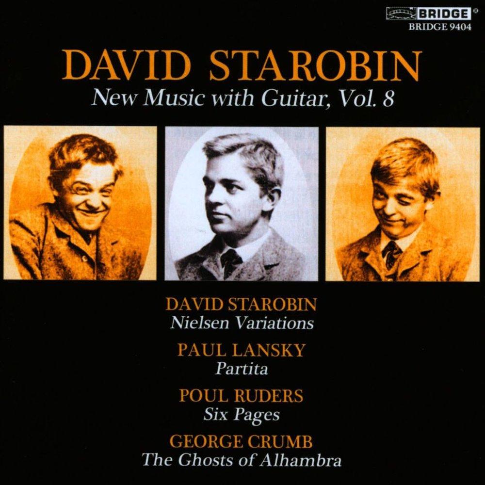 David Starobin - New Music with Guitar, Vol. 8.jpg