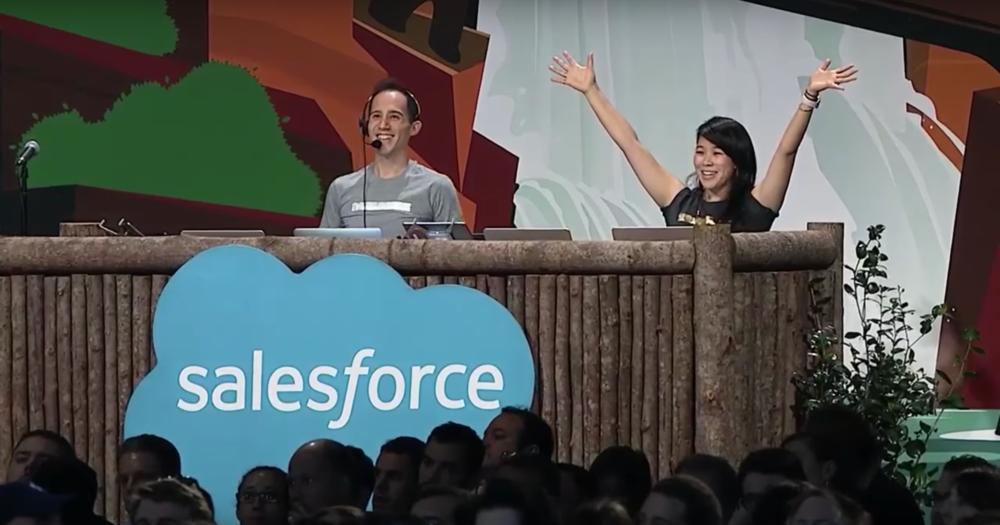 Driving the Admin Keynote demo at Dreamforce 2017
