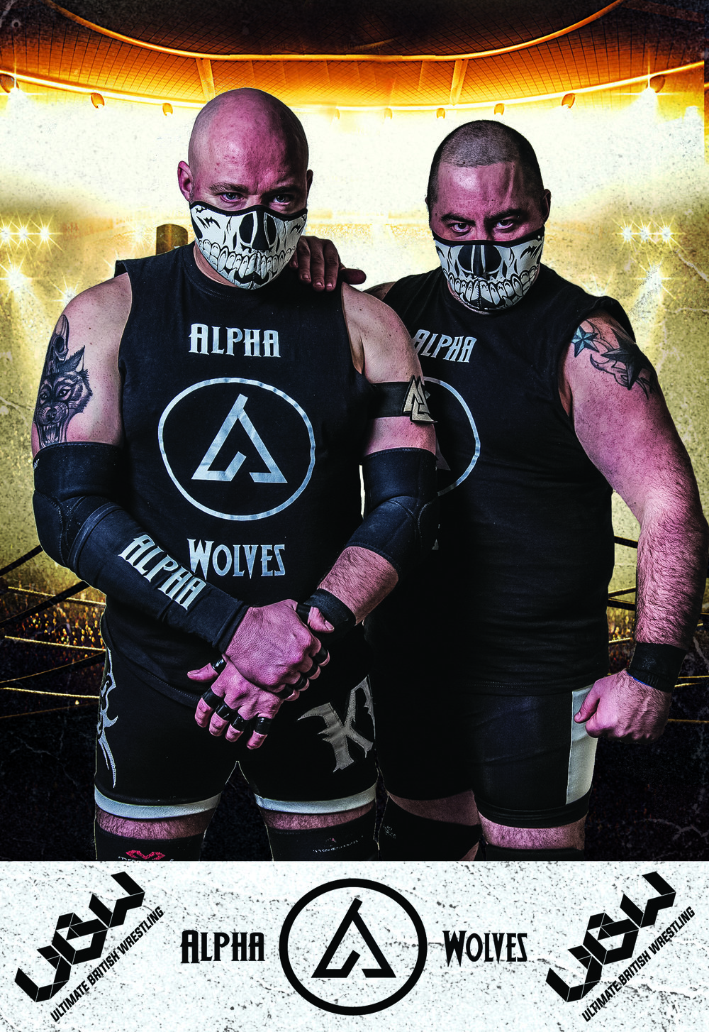 The alpha wolves   Is there anything more intimidating than a hardened beast of a wrestler, who shows no compassion or mercy to any of his opponents? Yes. When there are two of them.  Kruiz and Johnny Knox make up the deadly duo of The Alpha Wolves, a team that has made an impact never felt in UBW, and sure enough, have quickly ripped apart the tag team division and sit at the top of the food chain as the UBW Tag Team Champions. Their shared experience combined with their absolute brutality begs the question: Is there anyone who can stop them?