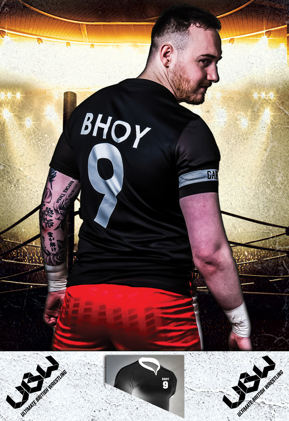 UBW Young Lions Champion - Robbie Bhoy