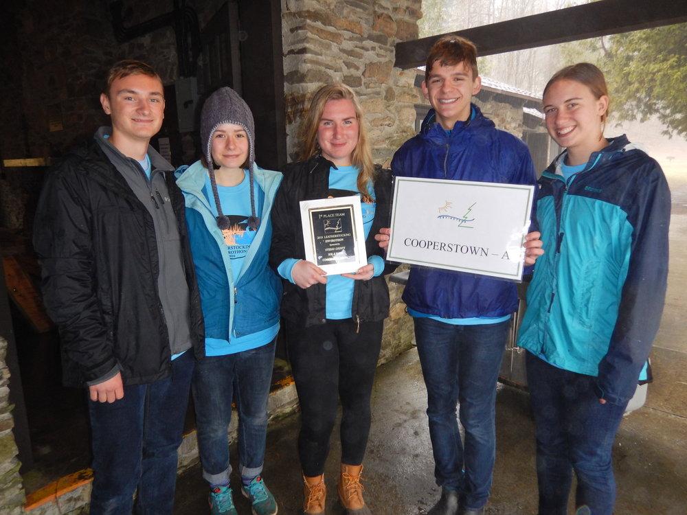 "2018 Leatherstocking Envirothon Winning Team ""Cooperstown - A"""