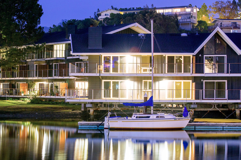 The Cove at Tiburon private marina and private sailing charters for residents