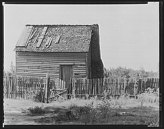 Prayer meeting house. Hale County, Alabama. Frank Tengle's farm . Photograph by Walker Evans, FSA.