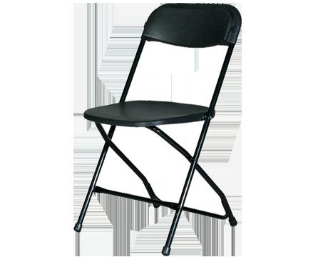 Folding Chair - Black