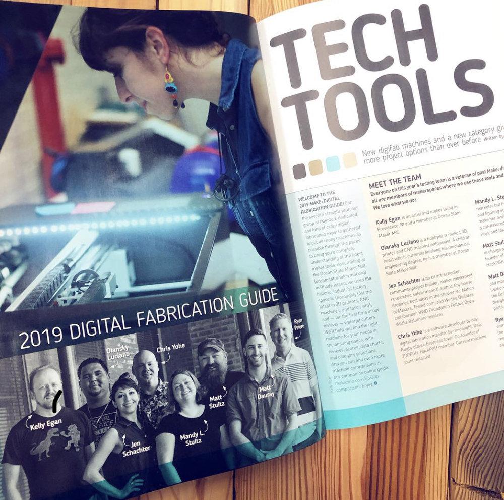 Make magazine online