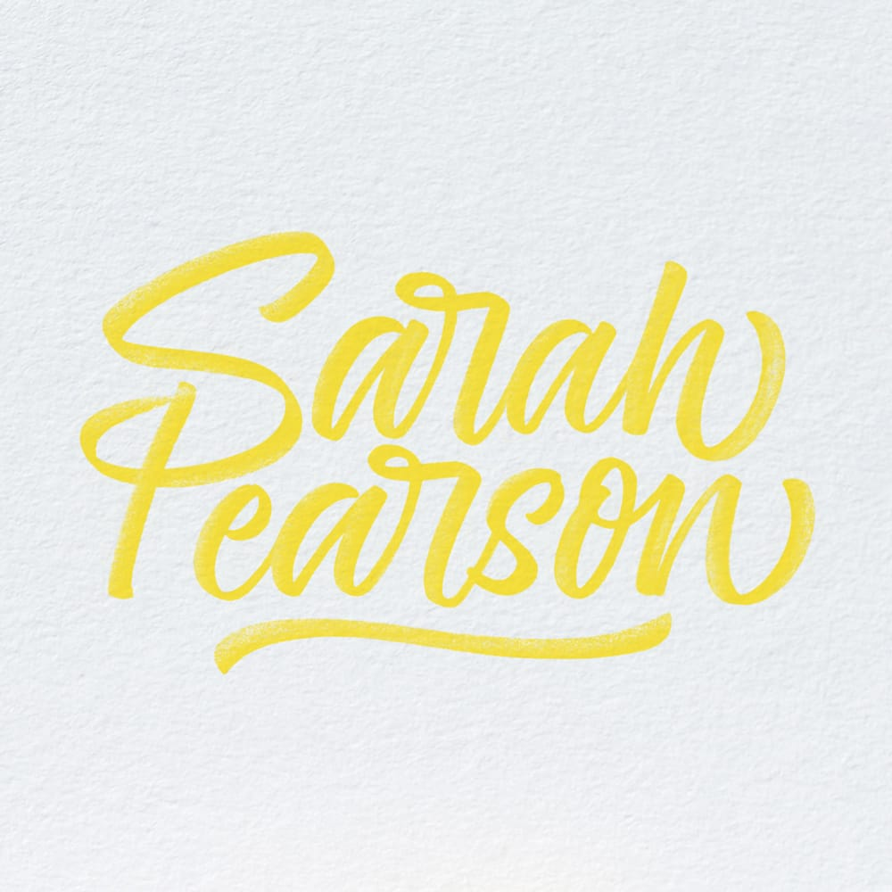 Interview: Sarah Pearson - Crayligraphy For Lefties With Sarah Pearson