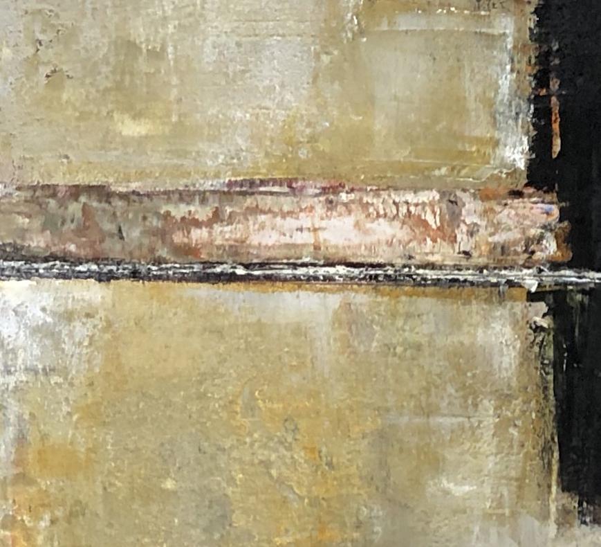 adobe y negro (i)  - closeup of exposed element