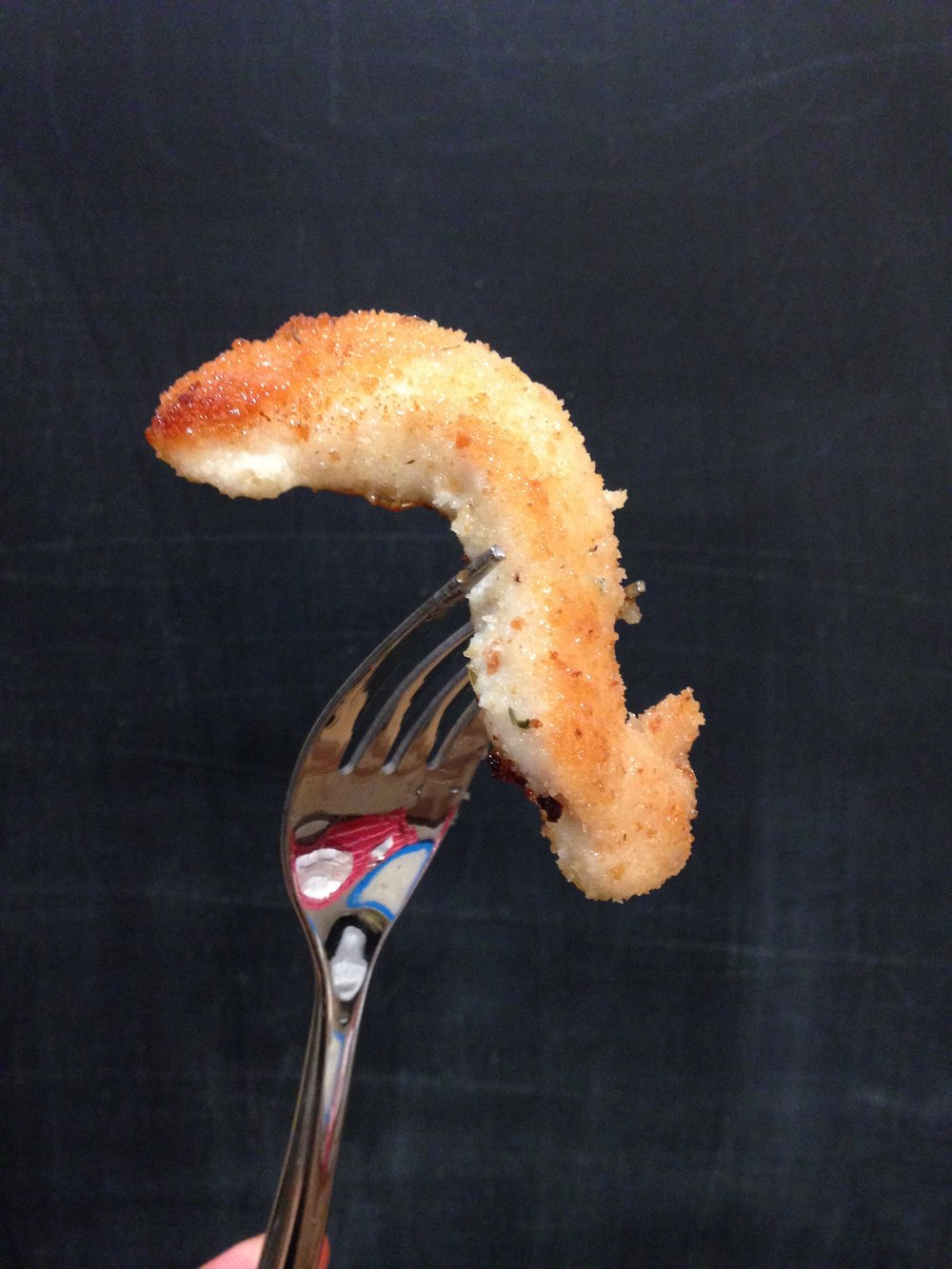 The chicken finger in five steps