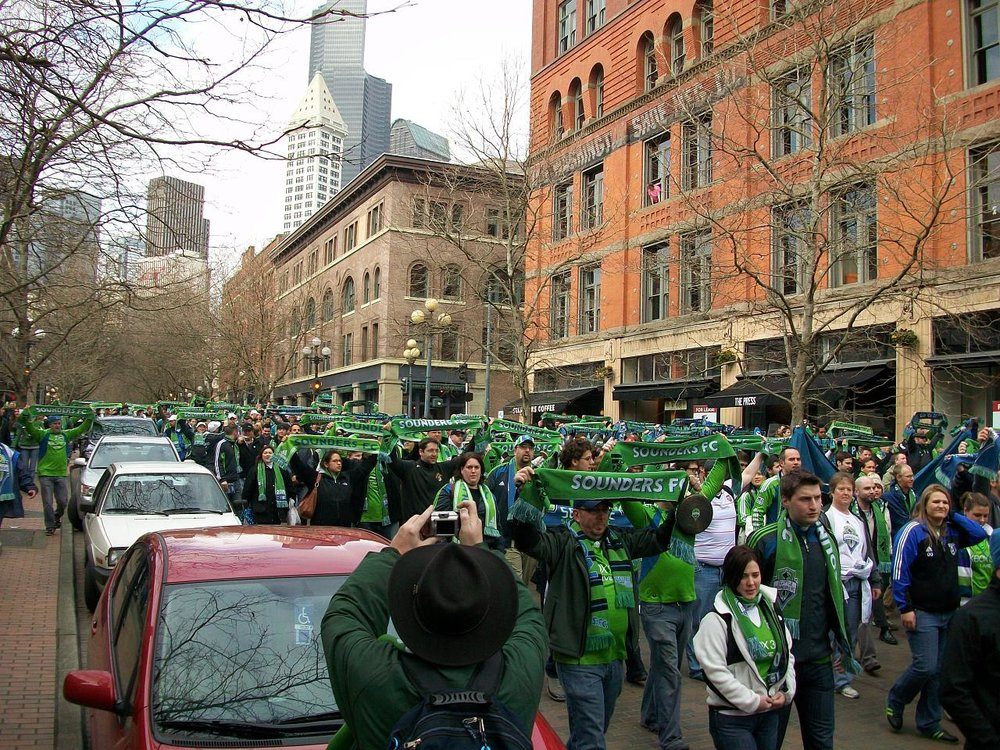 "The very first ""March to the Match""."