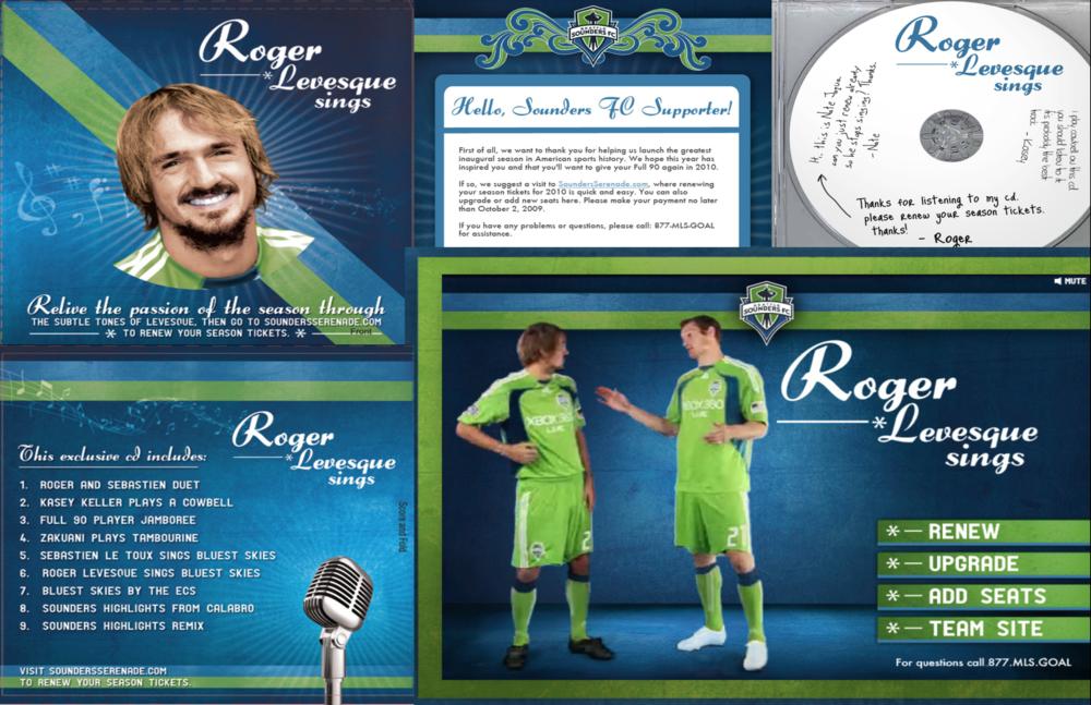 "2009 Renewal Campaign: ""Sounders Serenade""."