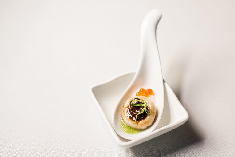 Escargot Bourgogne, Chochoyote, Crème Fraîche, Salsa Verde, Salmon Roe