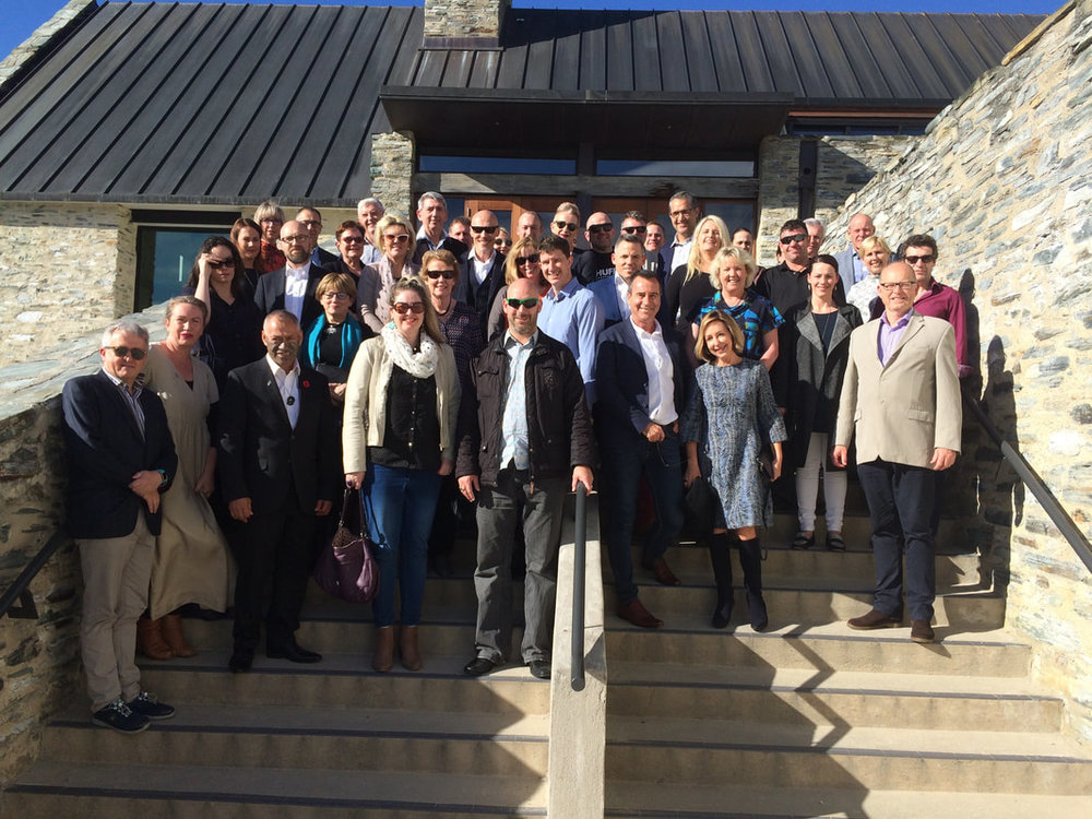 The  Future Firm Forum  turned 10 last week-end, October 20, 2017. A great group of people and a great lineup including  Kate Billing, Paul Leacock ,  John Chisholm ,  Gene Turner  and  Ngahi Bidois.  Thanks guys for a great week-end. Thanks also to  Millbrook  and  Amisfield  for amazing hospitality.