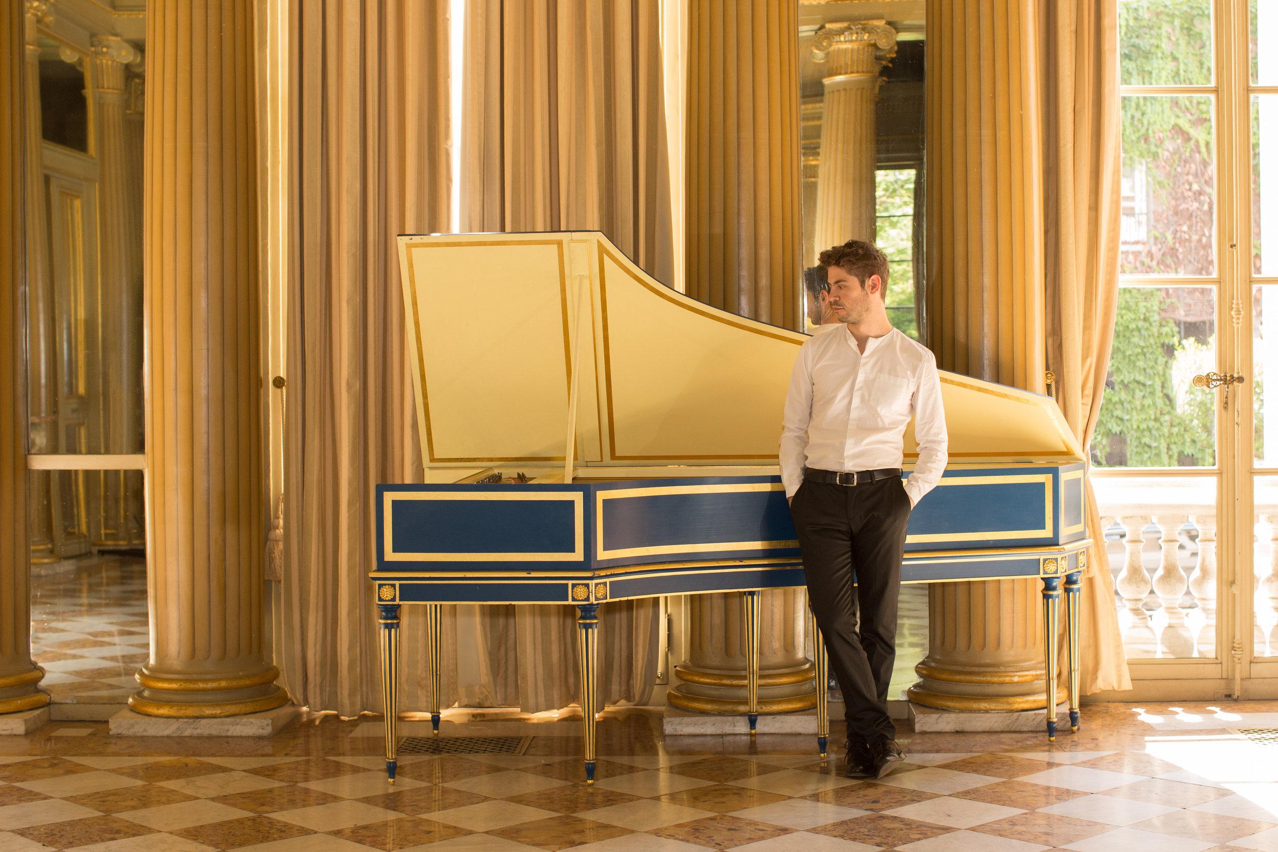 Entretien avec Paolo Zanzu. Recr�er la musique europ�enne du XVIIIe s.