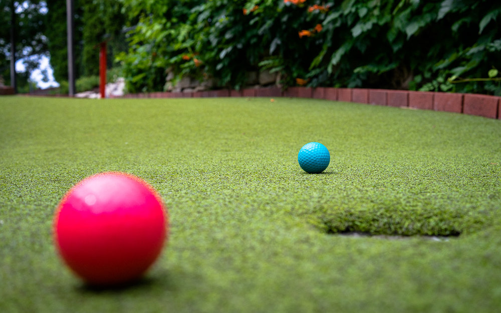 Mini golf,Major competition - Seriously fun and serious and fun. Naturally.