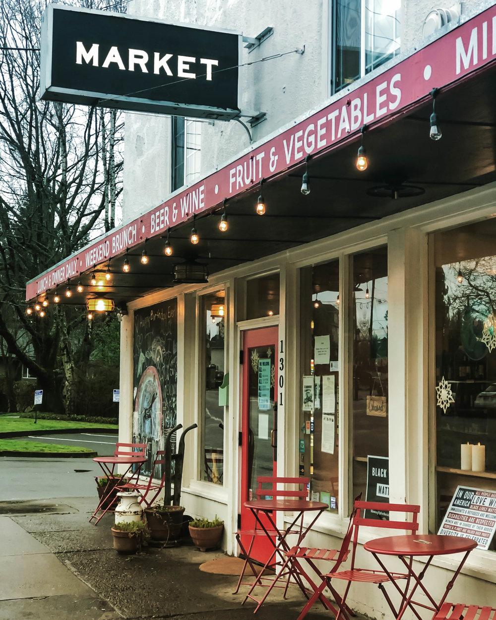 P's & Q's Market 301 NE Dekum St, Portland