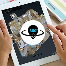 3D Virtual Visits (4K quality) 3D Mapping + Floor plans