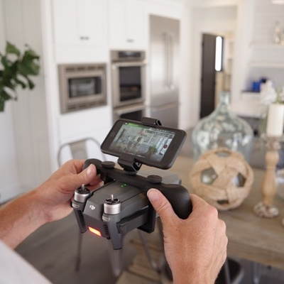 HIGH-TECH MARKETING  For property owners, attract more interested buyers and save time on back-and-forth with promotional aerial views and virtual tours of your property.