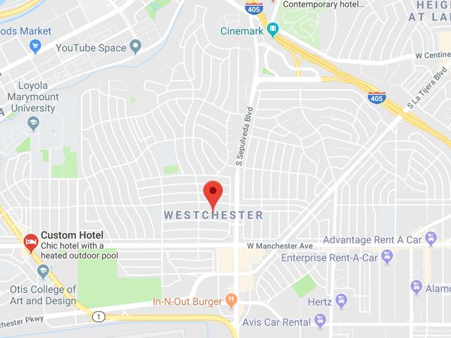 Westchester  Superficie: 28 km2 (including LAX Airport) Démographie: +40,000 habitants Prix moyen par Sq.Ft (1m2 = 10.76 Sq.Ft): -Maison Single Family: Q1 2018: $712 (Q1 2017: $529) -Condo: Q1 2018: $550 (Q1 2017: $442)