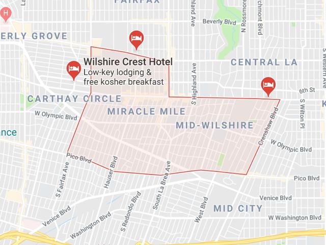 Mid Wilshire  Superficie: 7.20 km2 Démographie: +47,176 habitants Prix moyen par Sq.Ft (1m2 = 10.76 Sq.Ft): -Maison Single Family: Q1 2018: $515 (Q1 2017: $503)