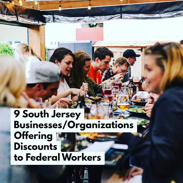 Full list at forkinthepines.com (or click bio link). As the #governmentshutdown drags on, numerous #SouthJersey #restaurants and organizations have stepped up to help feed families living without paychecks - including @chubbyshearth @tiffinindian @charliescrepesrara @tuckahoeco & more. Know of any I missed? Let me know and I'll add it ASAP. #southjerseyfoodie #hunger #food #foodblogger #foodblog #philly #nj