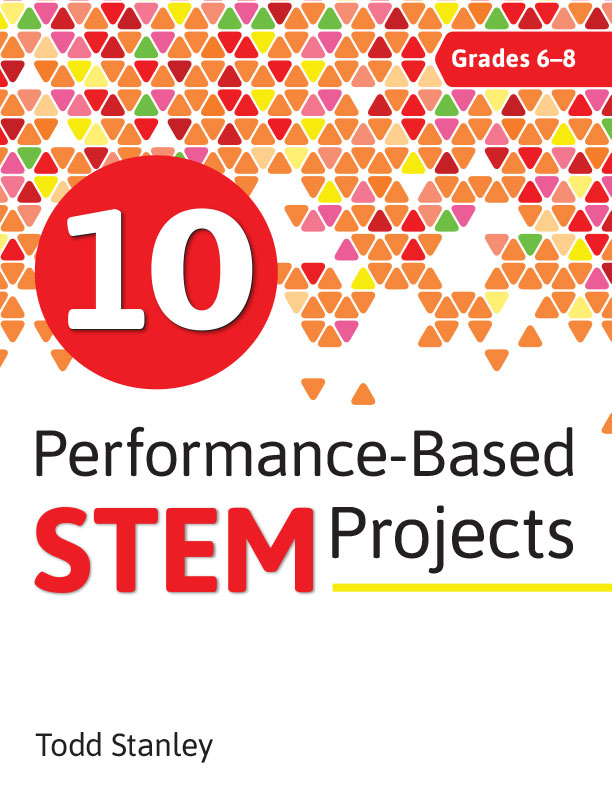 "10 Performance-Based STEM Projects for Grades 6-8 - 10 Performance-Based STEM Projects for Grades 6–8 provides 10 ready-made projects designed to help students achieve higher levels of thinking and develop 21st-century skills while learning about science, technology, engineering, and math. Some of the projects include:- You Be the Teacher- Escape Room- Who If You Paid the Bills?""I gave this book to my cousin and she used it with her 7th graders. All of the kids loved it so much. She says that the projects that she used worked extremely well with her curriculum and that it was very informative."" -- Audrey Jozwick"