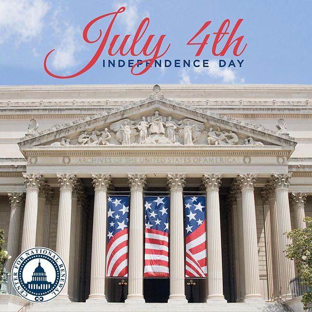 """""""We hold these truths to be self-evident, that all men are created equal, that they are endowed by their Creator with certain unalienable Rights, that among these are Life, Liberty and the pursuit of Happiness."""" • Happy Fourth of July from the @natrenew team!"""