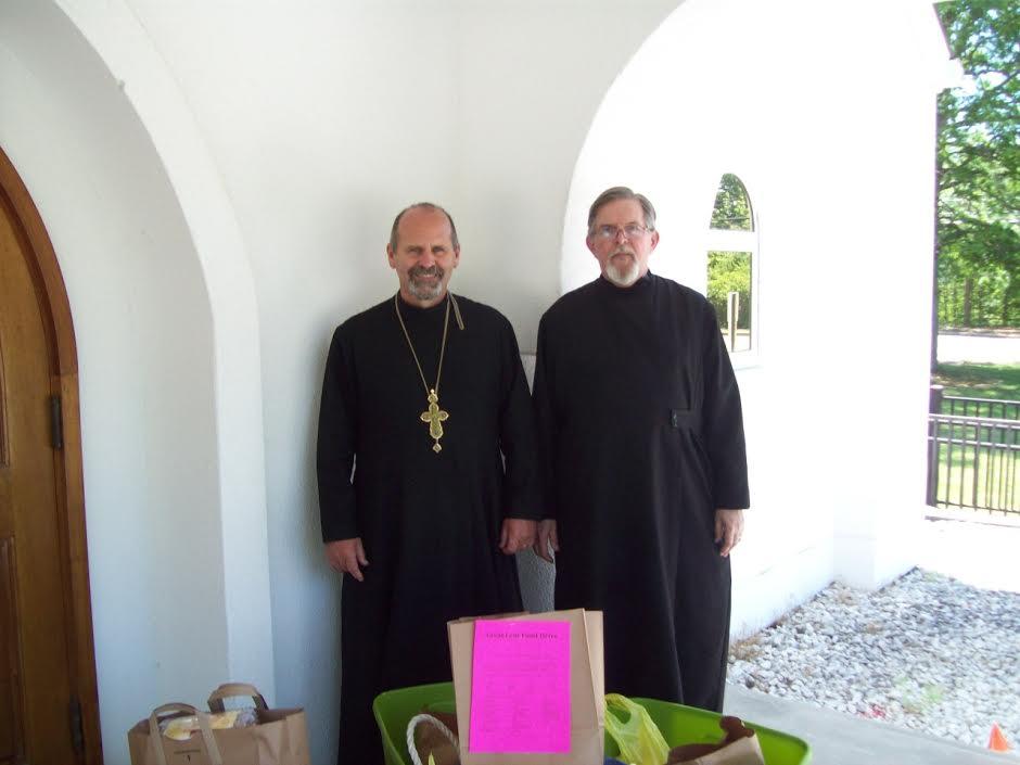 Archpriest Gary Breton and Deacon Alexander Smida