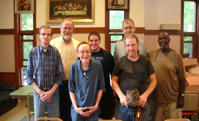 St. Herman's staff.