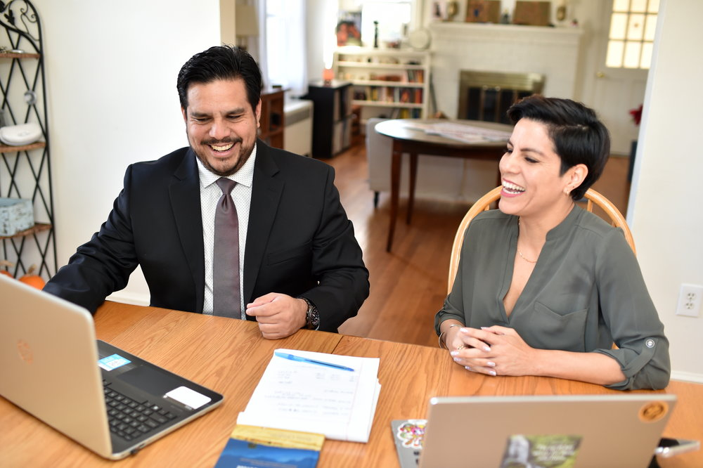 Jorge Bohabot and Miryam Bohabot