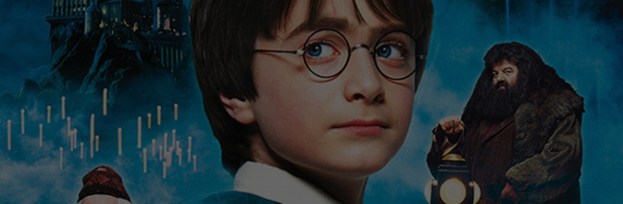 HARRY POTTER AND THE PHILOSOPHER'S STONE - 2001 - Cert PG - 2hr26mins