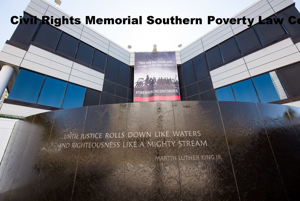 Civil Rights Memorial Southern Poverty :aw Center