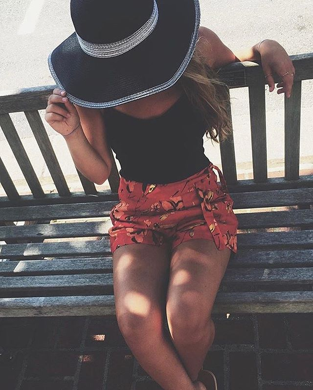 • @alliepetracci in our hat and shorts! xoxo • tag us in pics! #summer #thewearhouse #oceancitynj #beach