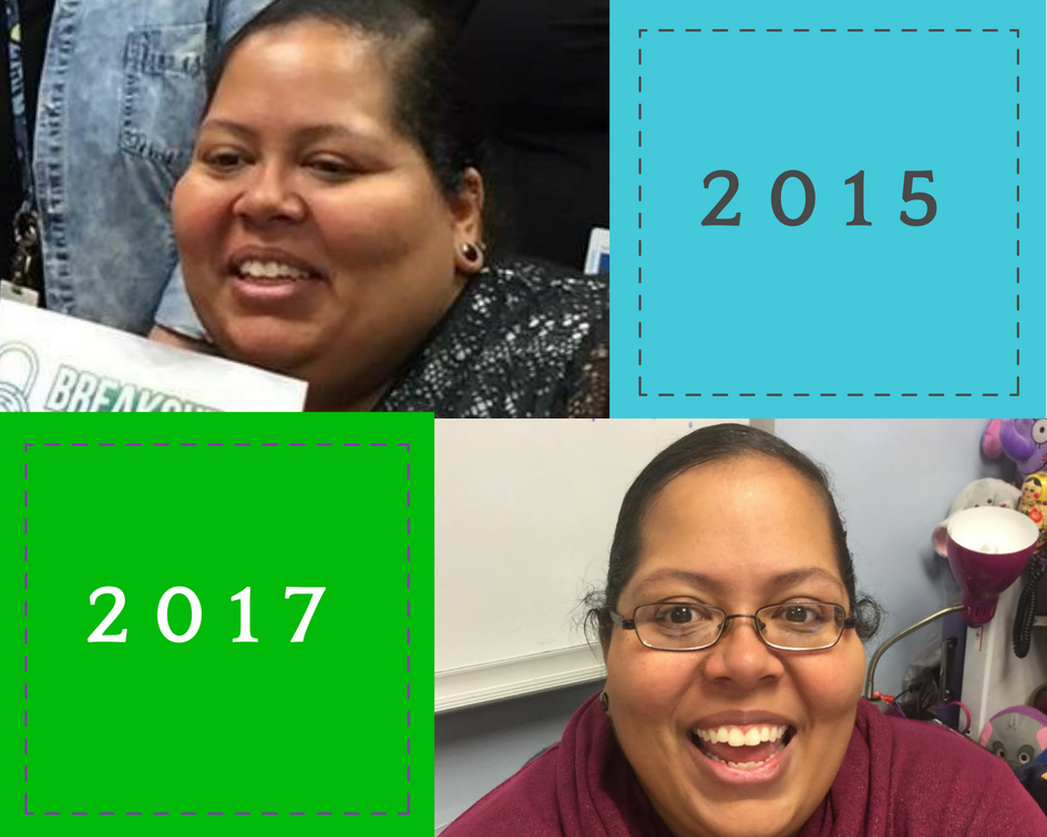 Over 100 lbs gone by my 2017 picture!